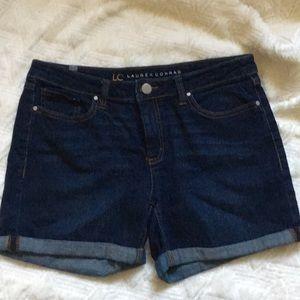 LC Lauren Conrad blue Jean shorts size 8